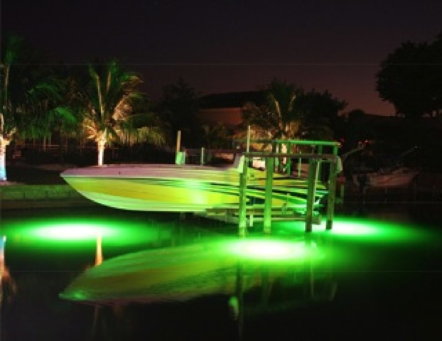 Custom Boat Headlights : Deep glo lighting miller electric inc